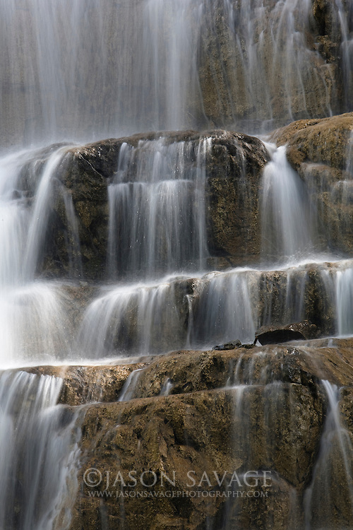 Falls in Glacier National Park.