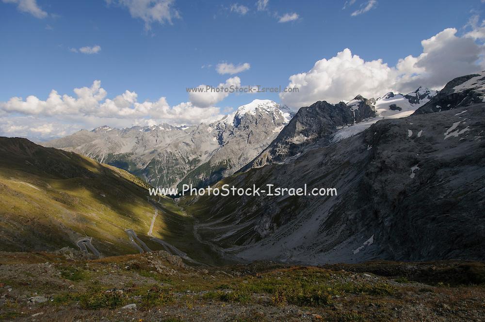 Stelvio Mountain Pass, Italy