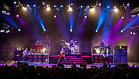 "Maroon 5 perform at the Hollywood Bowl in support of ""Hands All Over"" on July 25, 2011 in Los Angeles, California."