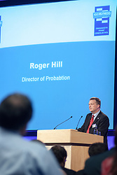 Roger Hill, Director of Probation, speaking at The Probation Service centenary celebration