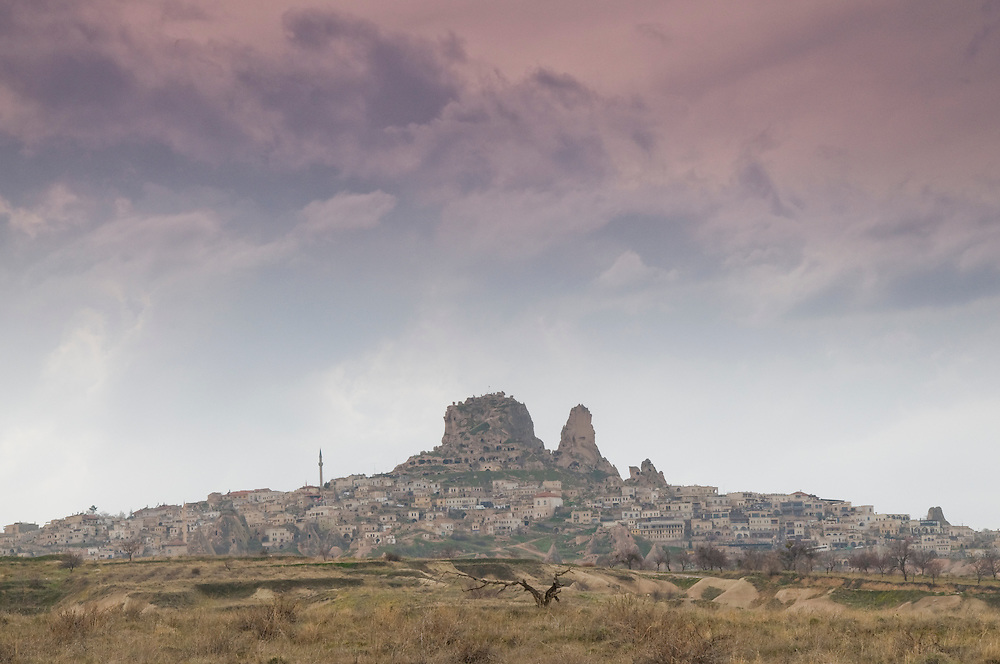 Uchisar towm, Turkey