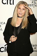 Barbra Streisand attends a Tribeca Talks session 30 April 2017