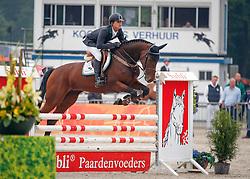 Kuipers Doron (NED) - Enett<br /> 4 jarige Springpaarden<br /> KWPN Paardendagen Ermelo 2013<br /> © Dirk Caremans