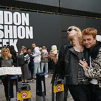 The BIG London Fashion Week Anti-Fur Protest
