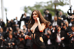 59680465  .Irina Shayk poses for photos as she arrives for the screening of the American film All Is Lost presented out of Competition at the 66th edition of the Cannes Film Festival in Cannes, southern France, May 22, 2013. Photo by: imago / i-Images. UK ONLY