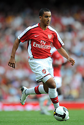 THEO WALCOTT.ARSENAL FC.EMIRATES CUP 2008, LONDON.EMIRATES STADIUM, LONDON, ENGLAND.02 August 2008.DIU82252..  .WARNING! This Photograph May Only Be Used For Newspaper And/Or Magazine Editorial Purposes..May Not Be Used For, Internet/Online Usage Nor For Publications Involving 1 player, 1 Club Or 1 Competition,.Without Written Authorisation From Football DataCo Ltd..For Any Queries, Please Contact Football DataCo Ltd on +44 (0) 207 864 9121