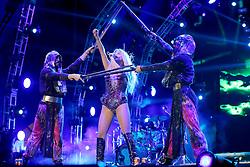 Kesha no palco central do Planeta Atlântida 2015, que acontece nos dias 30 e 31 de Janeiro de 2015, na Saba, em Atlântida. FOTO: Jefferson Bernardes/ Agência Preview