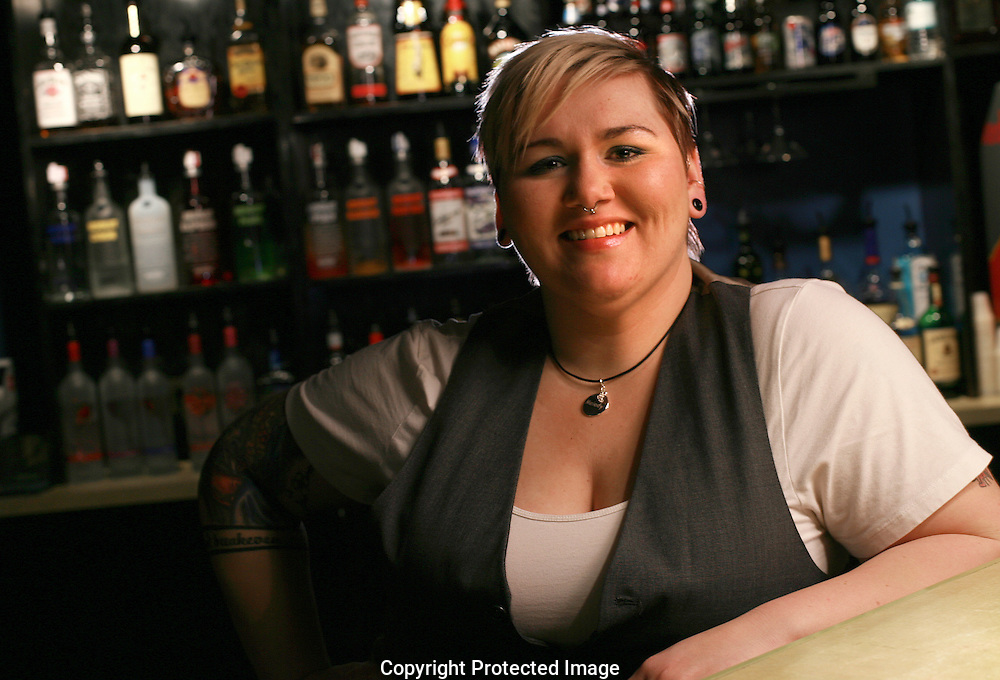 Wall Street mixologist Christina Basham.(Jodi Miller/Alive)