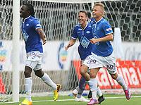 tippeliga, eliteserie, fotball, start, molde, 03.august, 2014<br />Daniel Chima Chukwu, Molde<br />Foto: Ole Fjalsett