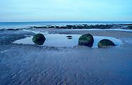Pools at Hunstanton, Norfolk, view to sea