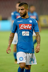 August 10, 2017 - Naples, Naples, Italy - Lorenzo Insigne of SSC Napoli during the Pre-season Frendly match between SSC Napoli and RCD Espanyol at Stadio San Paolo Naples Italy on 10 August 2017. (Credit Image: © Franco Romano/NurPhoto via ZUMA Press)