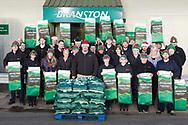 Branston potatoes Abernethy gearing up for Christmas production.