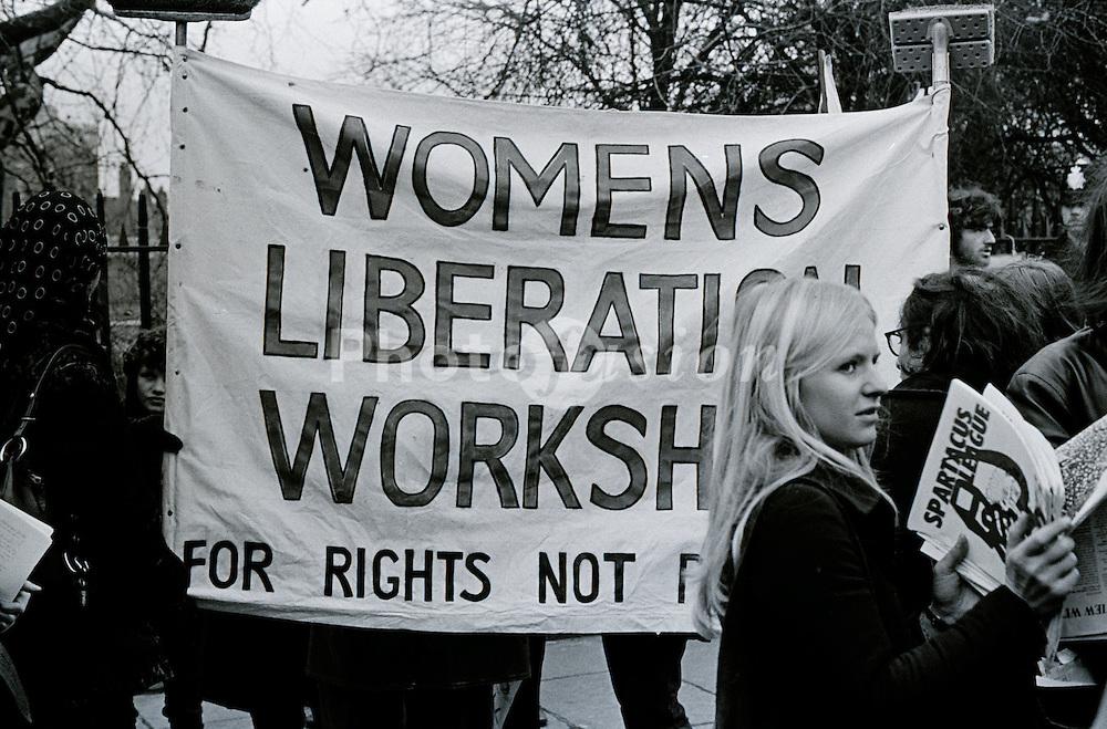 March against anti trades union legislation Tuesday 8 December 1970