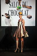 Annelies Törös  (Miss Belgique) - Défilé d'inauguration de la 2eme Edition du Salon du Chocolat à Bruxelles. Lors du défilé chocolat on a pu apercevoir Annelies Törös (Miss Belgique 2015) ainsi que différentes personnalités de l'audio-visuel belge.  Belgique, Bruxelles, le 05 février 2015.