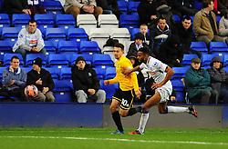 Bristol Rovers' Lyle Della-Verde - Photo mandatory by-line: Neil Brookman/JMP - Mobile: 07966 386802 - 08/11/2014 - SPORT - Football - Birkenhead - Prenton Park - Tranmere Rovers v Bristol Rovers - FA Cup - Round One