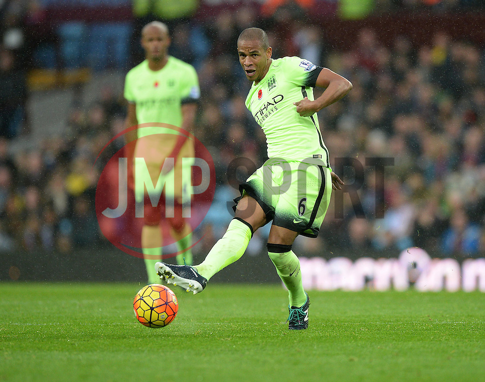 Fernando of Manchester City - Mandatory byline: Alex James/JMP - 07966 386802 - 08/11/2015 - FOOTBALL - Villa Park - Birmingham, England - Aston Villa v Manchester City - Barclays Premier League