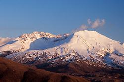 Steam Eruption from Mt. St. Helens, Mt. St. Helens National Volcanic Monument, Washington, US, April 19, 2005