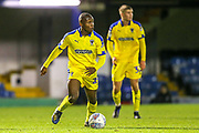 AFC Wimbledon forward Marcus Forss (15) during the EFL Trophy match between Southend United and AFC Wimbledon at Roots Hall, Southend, England on 13 November 2019.