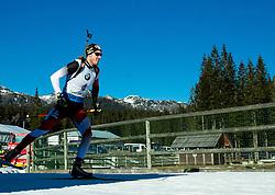 LANDERTINGER Dominik (AUT) competes during Men 15 km Mass Start at day 4 of IBU Biathlon World Cup 2014/2015 Pokljuka, on December 21, 2014 in Rudno polje, Pokljuka, Slovenia. Photo by Vid Ponikvar / Sportida