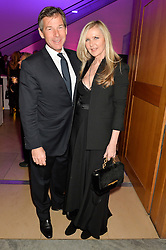 AMANDA WAKELEY and HUGH MORRISON at the Alexandra Shulman and Leon Max hosted opening of Vogue 100: A Century of Style at The National Portrait Gallery, London on 9th February 2016.