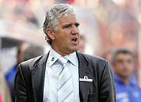 Jšrg Berger Fu§balltrainer Aachen fassungslos<br /> 2. Bundesliga Karlsruher SC - Alemannia Aachen
