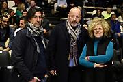 vip ,  bragaglio ,  ferrari<br /> Segafredo Virtus Bologna - Germani Basket Brescia <br /> Bologna Unipol Arena88-80 <br /> 06/01/2019 Ore 18:15<br /> foto GiulioCiamillo/Ciamillo