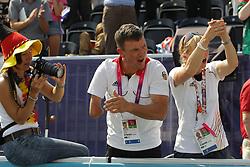 Zeibig, Steffen;<br /> Anton-Eger, Romy, <br /> London Paralympics 2012<br /> Grade II Freestyle<br /> © www.sportfotos-lafrentz.de/ Stefan Lafrentz