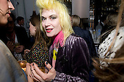 PAM HOGG;, Launch of Stephanie Theobald's book' A Partial Indulgence'  drinks provided by Ruinart champage nd Snow Queen vodka. The Artesian at the Langham, 1c Portland Place, Regent Street, London W1