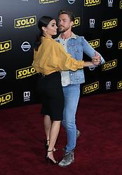 Solo: A Star Wars Story Premiere - Los Angeles. 10 May 2018 Pictured: Hayley Erbert, Derek Hough. Photo credit: Jaxon / MEGA TheMegaAgency.com +1 888 505 6342