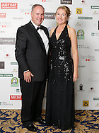 29/9/14***NO REPRO FEE***Pictured are Pat and Maureen Downes at the 11th Q Ball in aid of Spinal Injuries Ireland at The Ballsbridge Hotel last night Pic: Marc O'Sullivan
