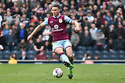 Aston Villa Defender, James Chester (12) during the EFL Sky Bet Championship match between Blackburn Rovers and Aston Villa at Ewood Park, Blackburn, England on 29 April 2017. Photo by Mark Pollitt.