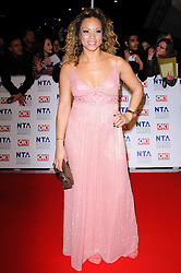 Angela Griffin at the National Television Awards held in London on Wednesday, 25th January 2012. Photo by: i-Images