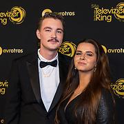 NLD/Amsterdam/20191009 - Uitreiking Gouden Televizier Ring Gala 2019, Bram Krikke en partner