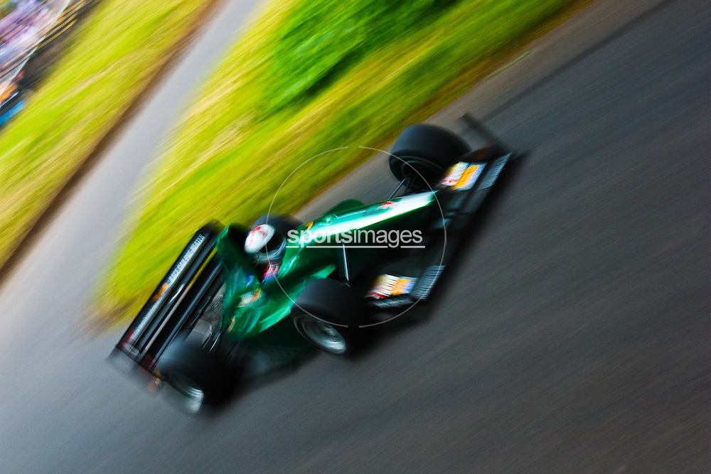 Car number 7 at Shelsley Hill climb 6/6/10