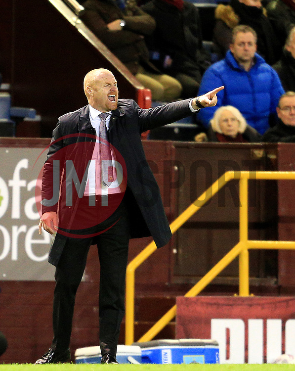 Burnley Manager Sean Dyche points - Mandatory by-line: Matt McNulty/JMP - 05/04/2016 - FOOTBALL - Turf Moor - Burnley, England - Burnley v Cardiff City - SkyBet Championship