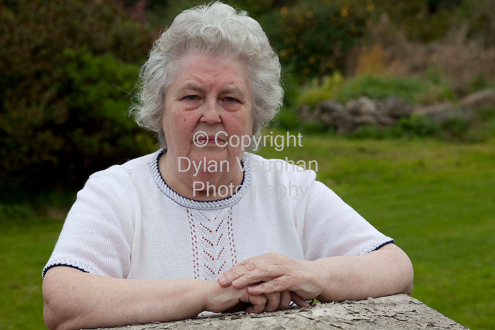 18/9/2009.Patricia Oliver pictured at her home in Piltown County Kilkenny Ireland..Picture Dylan Vaughan.