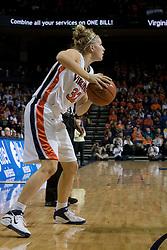 Virginia Cavaliers Forward Jayna Hartig (32) in action against Maryland.  The Maryland Terrapins defeated the Virginia Cavaliers 83-74 at the John Paul Jones Arena in Charlottesville, VA on February 10, 2007.