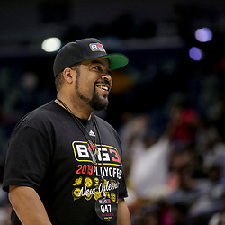 Aug 25, 2019; New Orleans, LA, USA; Ice T in attendance  during the Big Three Playoffs at the Smoothie King Center. Mandatory Credit: Derick E. Hingle-USA TODAY Sports