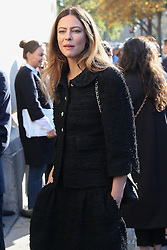 Anna Mouglalis bei der Chanel Modenschau während der Paris Fashion Week / 041016<br /> <br /> ***Chanel fashion show as part of Paris Fashion Week on october 04, 2016 in Paris***