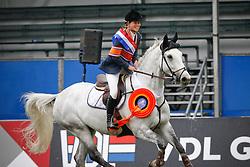 Van den Brink Stefanie - Verdi<br /> Nederlands Kampioenschap Springen CH Mierlo 2010<br /> © Hippo Foto - Dirk Caremans