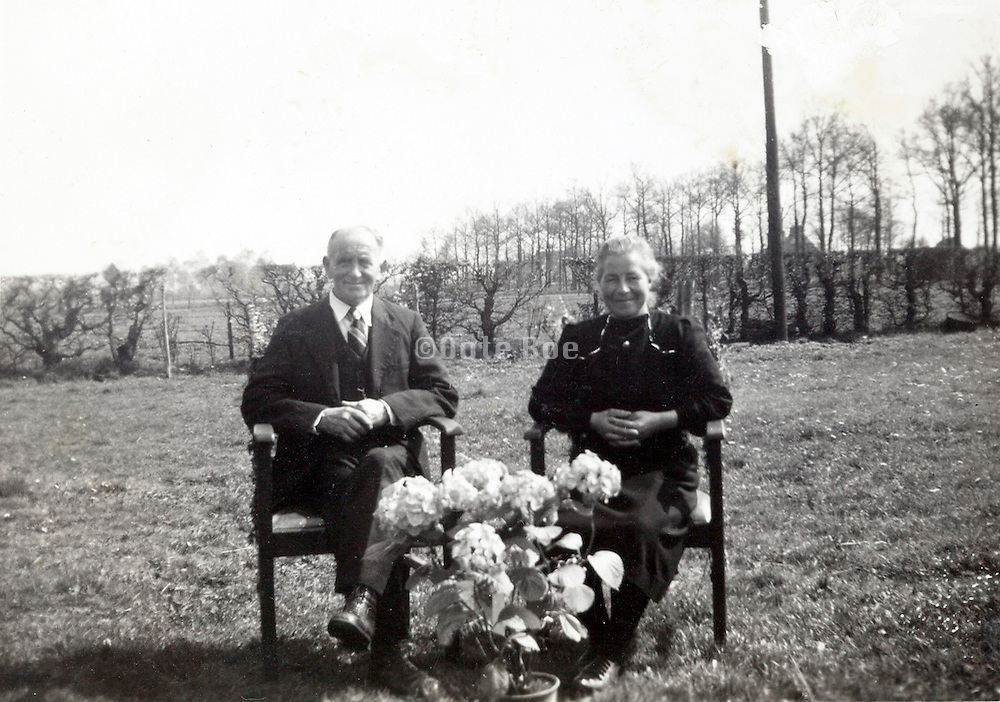 golden wedding celebration 1930s rural Holland