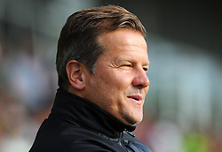 Forest Green Rovers manager Mark Cooper looks on - Mandatory by-line: Nizaam Jones/JMP- 17/07/2018 - FOOTBALL - New Lawn Stadium - Nailsworth, England - Forest Green Rovers v Leeds United - Pre-season friendly