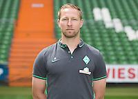German Soccer Bundesliga 2015/16 - Photocall of Werder Bremen on 10 July 2015 in Bremen, Germany: Athletic-coach Joern Heineke