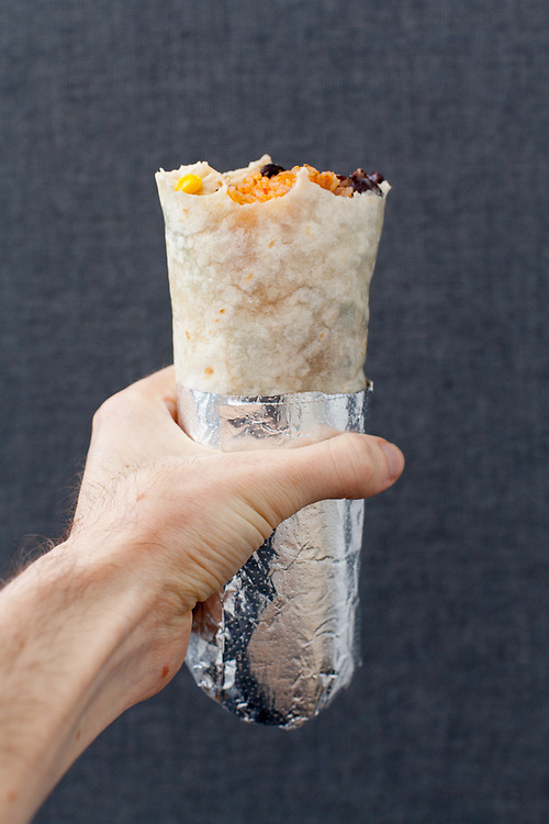 Chicken Burrito from Dos Toros ($9.75)