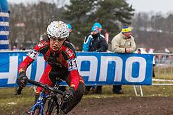 Rocio Del Alba Garcia Martinez (ESP), Women Elite, Cyclo-cross World Championships Tabor, Czech Republic, 31 January 2015, Photo by Pim Nijland / PelotonPhotos.com