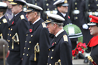 Anne Princess Royal; Prince Andrew Duke Of York; Prince Philip Duke Of Edinburgh; Charles Prince of Wales; Prince Edward Earl of Wessex Remembrance Sunday - Cenotaph Service, Whitehall, London, UK, 14 November 2010:  Contact: Ian@Piqtured.com +44(0)791 626 2580 (Picture by Richard Goldschmidt)