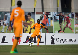 AUBAGNE, FRANCE - Tuesday, May 30, 2017: Ivory Coast's Jean Philippe Krasso in action during the Toulon Tournament Group B match between Bahrain and Ivory Coast at the Stade de Lattre-de-Tassigny. (Pic by Laura Malkin/Propaganda)