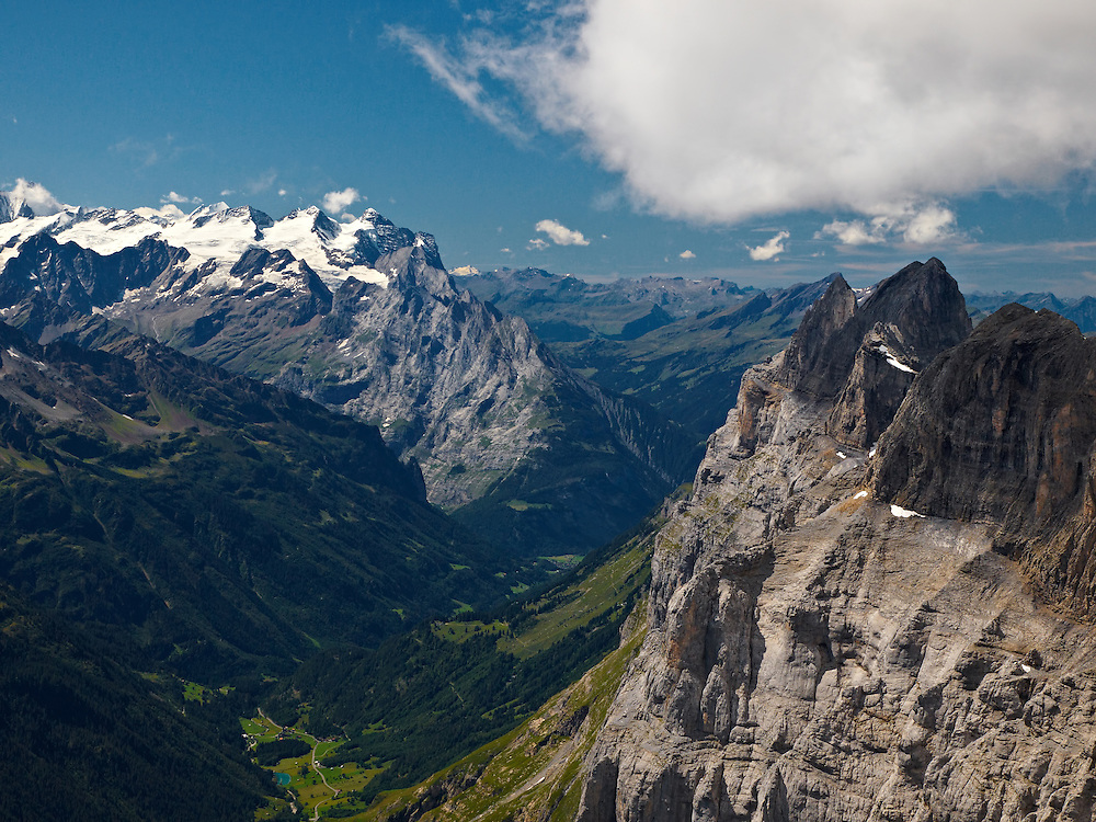 Switzerland - Reissend Nollen and Urner Alps view