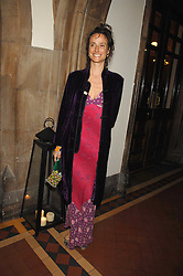 The MARCHIONESS OF WORCESTER actress Tracey Ward at the 2nd Fortune Forum Summit and Gala Dinner held at the Royal Courts of Justice, The Strand, London on 30th November 2007.<br /><br />NON EXCLUSIVE - WORLD RIGHTS