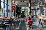 Lobby + Café. Volkshotel, Amsterdam | Architect: Steven Steenbruggen
